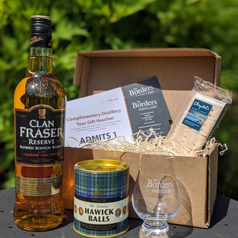 Clan Fraser Whisky Treat Box
