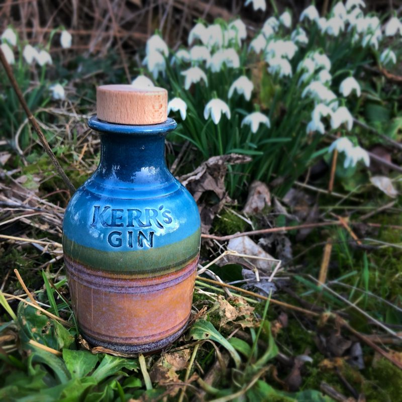 Limited Edition Kerr's Gin Ceramic Bottle (20cl)