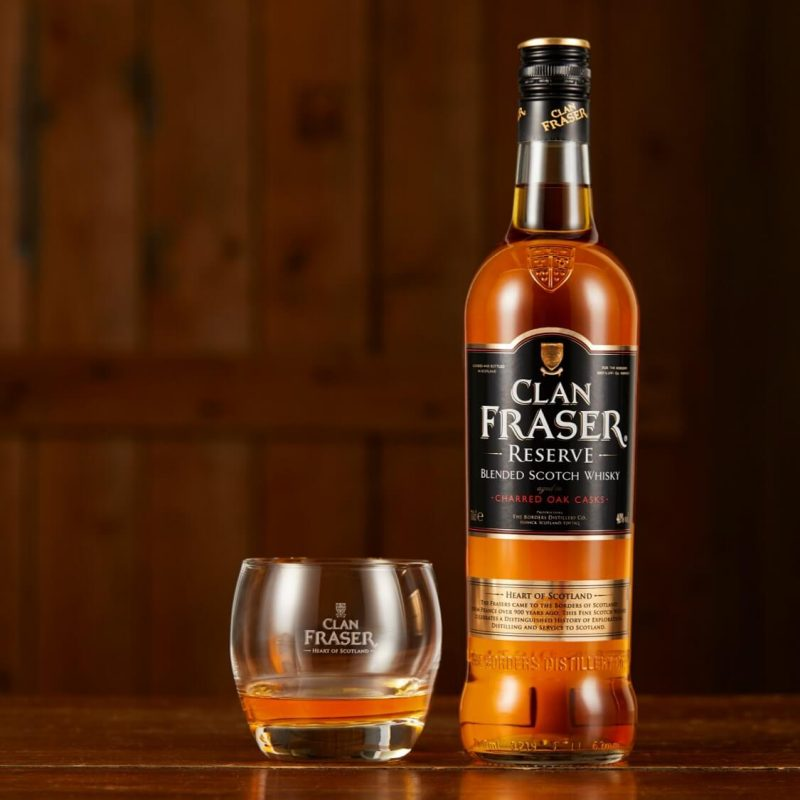 Clan Fraser Reserve with branded glass