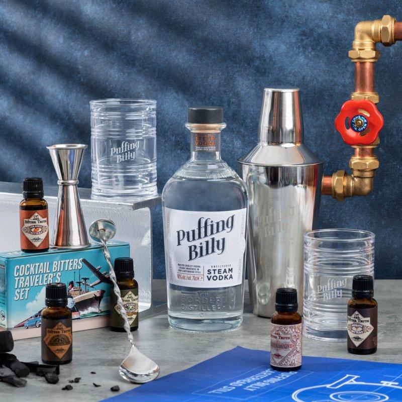 Puffing Billy Steam Vodka Cocktail Set