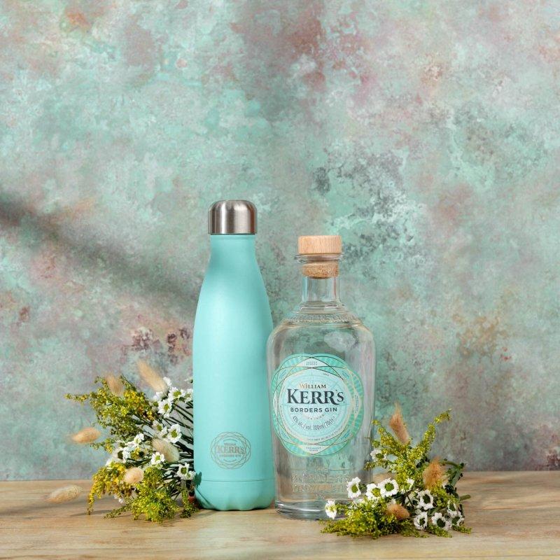 Kerr's Gin + Kerr's cooler bottle