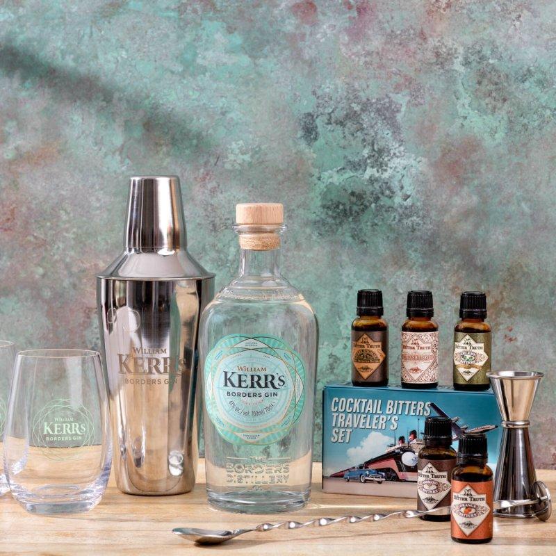 Kerr's Gin Cocktail Set